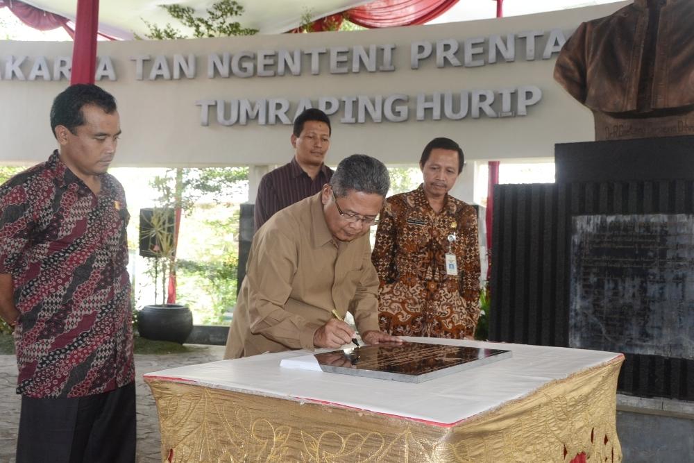 Peresmian Fasilitas PONEK RSUD dr R Goeteng Taroenadibrata