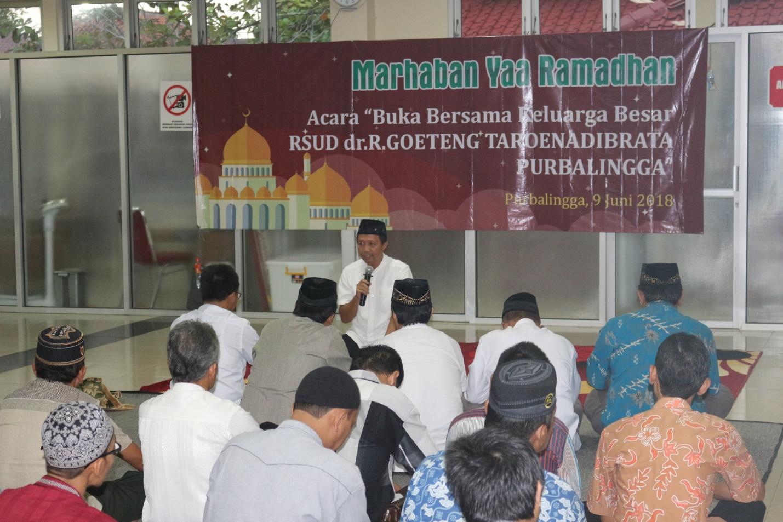 BUKA BERSAMA KARYAWAN DAN KARYAWATI RSUD dr. R. GOETENG TAROENADIBRATA PURBALINGGA