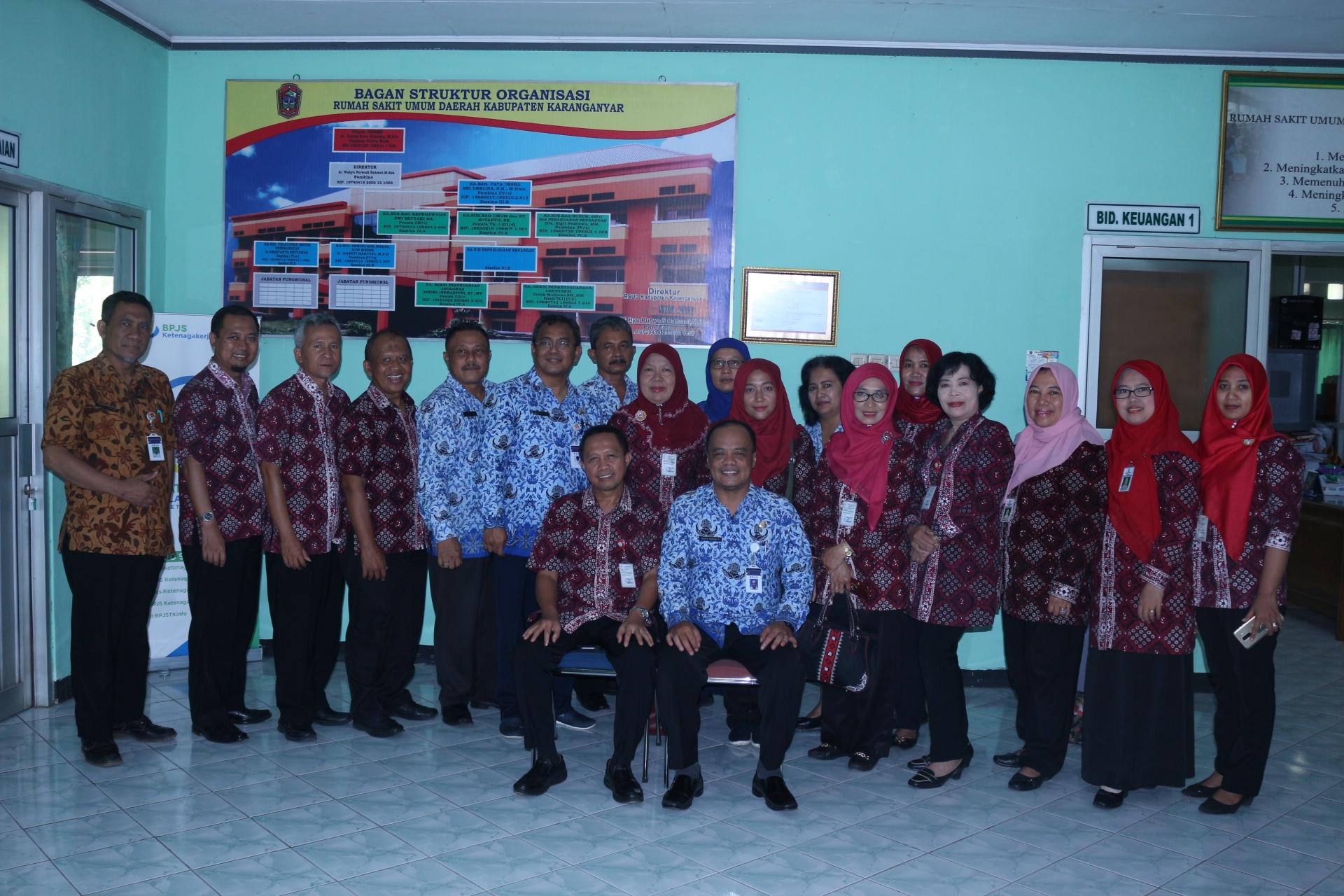 RSUD dr R Goeteng Taroenadibrata lanjutkan kaji banding di RSUD Kabupaten Karanganyar