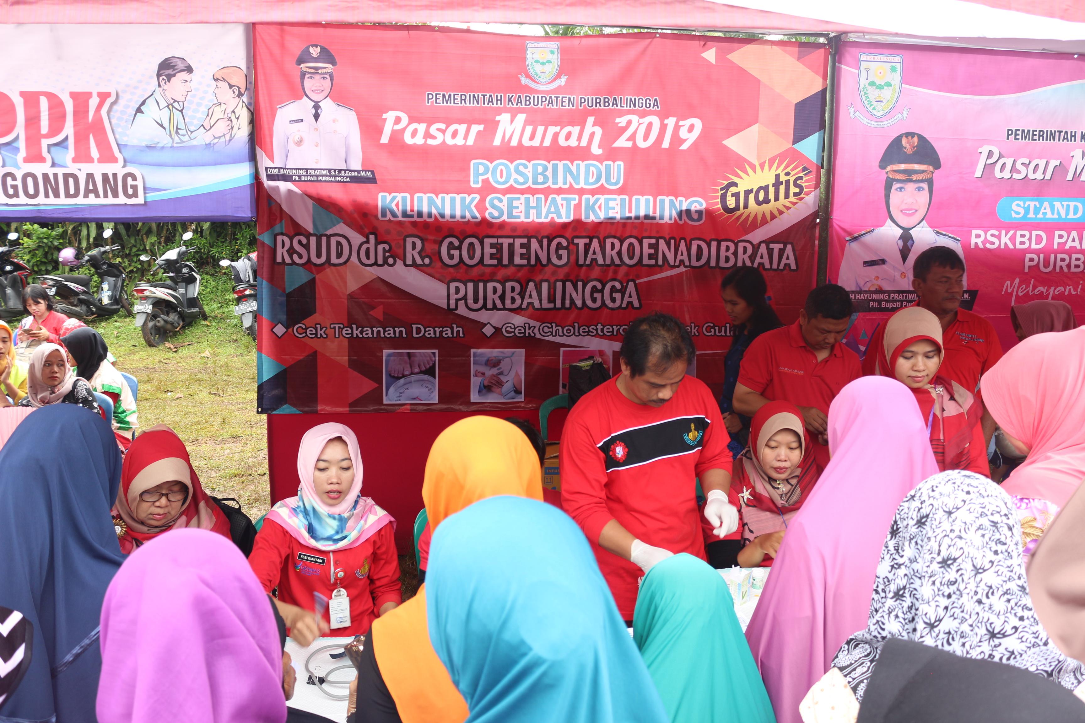 Pasar Murah Dalam Rangka Hari Konsumen Nasional  Kabupaten Purbalingga