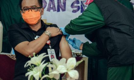 Pencangan Vaksinasi Covid-19 di RSUD dr R Goeteng Taroenadibrata
